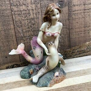2003 Munro Enterprises Syrens of the Sea Taylor Collectable Mermaid Siren Statue