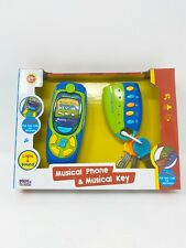 Musical Phone & Musical Key Baby Toy Light & Sound 24+ Months