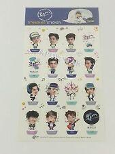 2PM Mini Photo 3D Standing Sticker KPOP Character Jun K Nichkhun TAECYEON JunHo