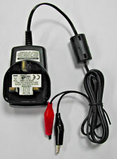 12V PLUG IN 600mA LEAD ACID BATTERY CHARGER WITH CROCODILE CLIPS