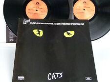 Cats -Live aus dem Hamburger Operettenhaus 2 LP Foc.Insert D-1986 Polydor8310931