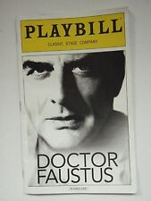 Doctor Faustus Playbill, July 2015, Classic Stage Company, Chris Noth