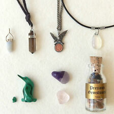 gemstones pendant bulk collection various rare 1903 indian penny eagle jewellery