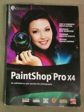 Corel Paintshop Pro X4 Brand New Sealed