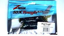 "Z-MAN POP FROGZ SIZE 4""  WATERMELON 4-COUNT PACKAGE"