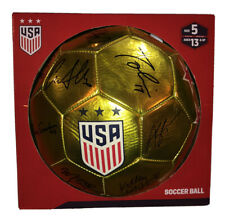 New USA 2019 Women's National World Cup Gold Soccer Ball Team Signed Sz 5 USWNT