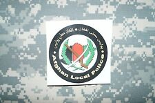 Afghanistan Afghan Local Police Sticker Authentic