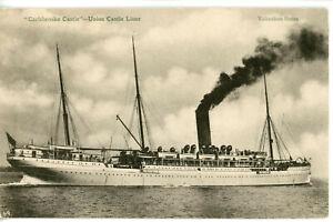 Union-Castle Line's three-masted CARISBROOKE CASTLE of 1898