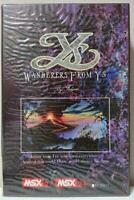 MSX WANDERERS FROM YS / Wanderers from Ys