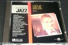 GENE KRUPA STORY  CD LES GENIES DU JAZZ //