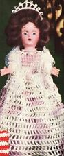 Crochet Doll EMPRESS JOSEPHINE France 7 Clothes Pattern