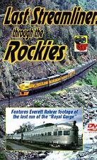 Last Streamliners Through The Rockies DVD - Greg Scholl Railroad