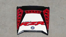 American Rock Rods Red Powdercoated Hood scoop/grill kit for 2011 + Polaris RZR