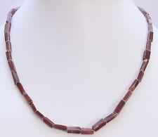 braun-aventurin Collar de piedras preciosas, 45cm largos, bloque, collar, Joya