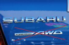"NEW Genuine OEM Subaru Rear Badge ""SUBARU"" 2008-2011 Impreza WRX STi NR"