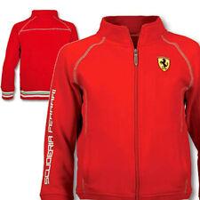 Ferrari Kids Red SF Zip Sweatshirt