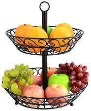 Sorbus 2-Tier Countertop Fruit Basket Stand