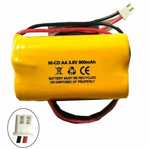 BBAT0063A TOPA Ni-CD AA900mAh 3.6V Battery Replacement for Emergency / Exit Ligh