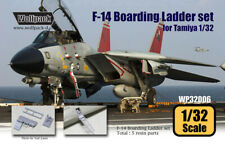 Wolfpack WP32006, F-14 Tomcat Boarding Ladder set (for Tamiya 1/32) , SCALE 1/32
