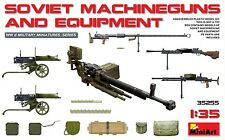 1/35 MINIART Soviet Machineguns and Equipment #35255