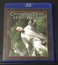 Crouching Tiger, Hidden Dragon (Blu-ray) Like New Condition