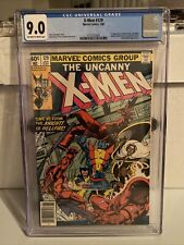Uncanny X-Men 129 CGC 9.0 OW/W Pages. 1st app Emma Frost, Kitty Pryde.