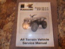 KAWASAKI PRAIRIE 700 4X4 KVF 700 4X4  ATV SERVICE MANUAL 2004