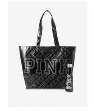 Victoria's Secret PINK S'well Water Bottle & Reusuable Tote Brand New Black