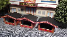 3 Weihnachtsmarkthütten   Weihnachtsmarkt   Markthütten   Spur N   Lasercut