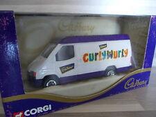 CORGI COLLECTION 1/43 - Ford Transit Van-CADBURY 'S Curly Wurly