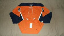 New York Islanders Orange Alternate #55 CCM PRO Fight Strap NHL Hockey Jersey 54