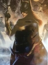 Comic Art Prints Bat Girl is an 11x17 art print that comes in a Plastic Sleeve