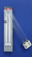 PHILIPS TUV PL-L 18w/4p 2g11-UVC Lampada Sostitutiva 18 Watt FILTRO PER LAGHETTO ALGHE OASI