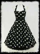 Rockabilly Chiffon Plus Size Dresses for Women