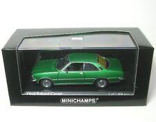 Opel Rekord D Coupe (Jade Green) 1975