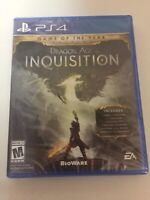 Dragon Age Inquisition Game of the Year Edition (PlayStation 4, 2015) PS4 New