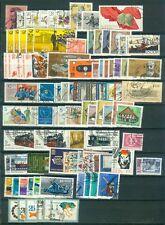 DDR Jahrgang 1981 , gestempelt , Auswahl aus Michel Nr.  2572 - 2666