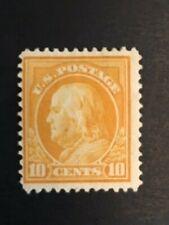 1912 US 10 CENT FRANKLIN  PERF 12  Scott# 416 MINT OG/HR