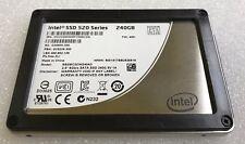 """Intel SSD 520 2.5"""" 240GB 6Gb/s SATA III MLC Solid State Drive SSDSC2CW240A3"""