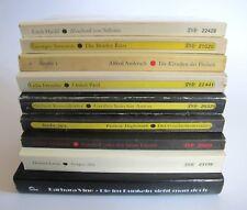 Konvolut 8 DIOGENES Taschenbücher 1 Gebundene Ausg Bücher Romane Lesestoff K0764