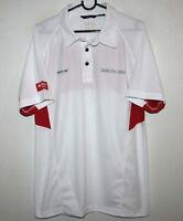 Denmark Dansk Golf Union mens white shirt EUR-L US-M