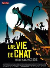 UNE VIE DE CHAT Movie POSTER 11x17 French