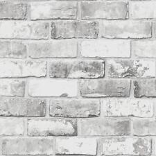 DeBona Papier Peint Brique moderne Metalique Motif Effet Faux réaliste Roll 6752