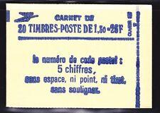 FRANCE CARNET 2059-C4 ** MNH carnet fermé, conf. N° 8, cote: 23  €