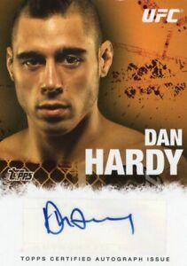 Dan Hardy 2010 Topps UFC Autograph