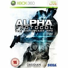 Alpha Protocol (XBOX 360) NEW & Sealed - Despatched from UK