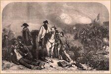1854 Wood Block Print Garibaldi at Rome G h Thomas Painting