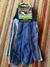 Town & Country Essentials light duty dotted palm gardening gloves-new