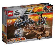 LEGO Jurassic World Carnotaurus Gyrosphere Escape 2018 (75929)