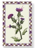 Wild Thistle Cotton Tea Towel